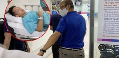 Bất chấp nửa đêm, HLV Park Hang-seo và vợ Hùng Dũng tức tốc đến bệnh viện