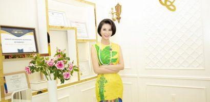 MC Thanh Mai khoe thân hình đồng hồ cát ở tuổi U50