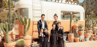 Bà xã Lý Hải – Minh Hà đón sinh nhật ấm áp bên chồng và các con