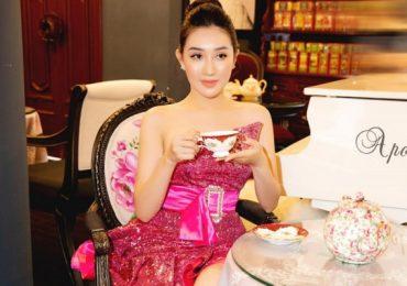 Ngắm nhan sắc mặn mà của Hoa hậu Huỳnh Thúy Anh