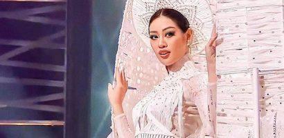 'Cơn mưa' lời khen dành cho Khánh Vân sau đêm bán kết Miss Universe 2020