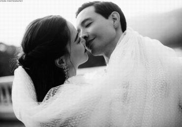 Tan chảy với bộ ảnh cưới lãng mạn của Hồ Ngọc Hà – Kim Lý