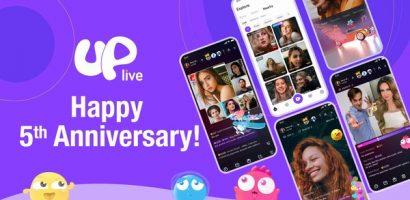 Hành trình 5 năm chinh phục người dùng của Uplive