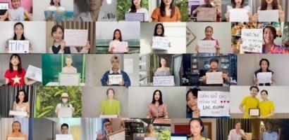 Châu Đăng Khoa, Sofia cùng 35 nghệ sĩ lan tỏa thông điệp chống dịch: 'Sẽ không ai bị bỏ lại đằng sau'