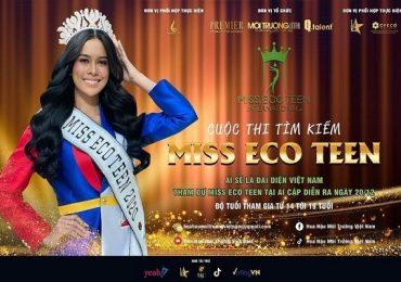 Khởi động Cuộc thi tìm kiếm gương mặt đại diện Việt Nam tham gia 'Miss Eco Teen International'